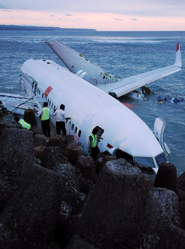 Lion Air Boeing 737 Removed from the Sea