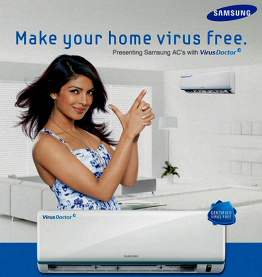 Priyanka Chopra in Samsung ad