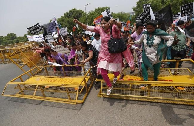 Delhi Child-Rape Protests