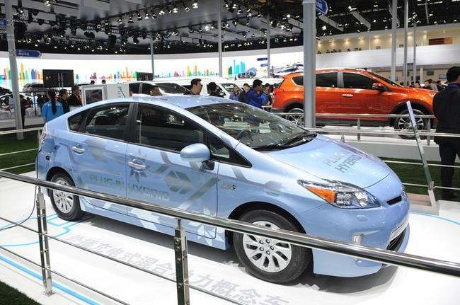 Toyota Prius hyrid electric car