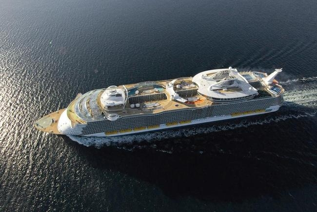 The MS Allure of the Seas