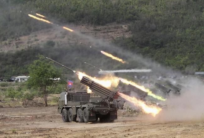 BM21 Multiple Rocket Launcher