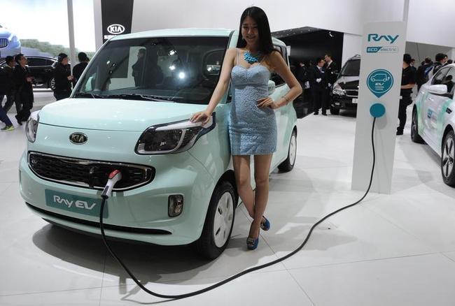 KIA Ray EV Electric Car