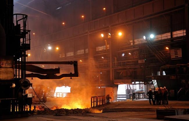 Inside the ArcelorMittal Steel Plant