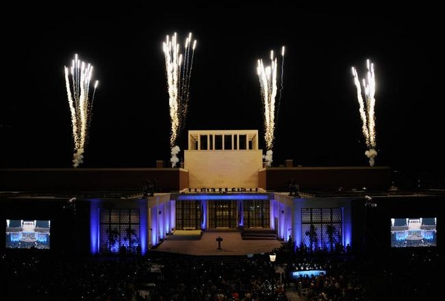 George W. Bush Library Dedication Attended By President Obama And Former Presidents