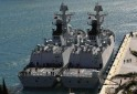 Chinese Navy frigates Hengshan and Huangshan