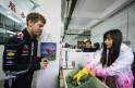 Sebastian Vettel in China