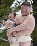 How Cute! Baby-Cry Sumo Competition