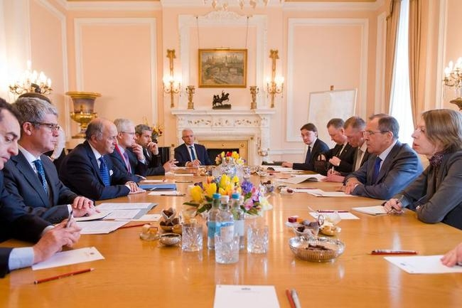 G8 Foreign Ministers Meet in London