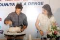 Sachin Tendulkar Cuts 40th Birthday Cake