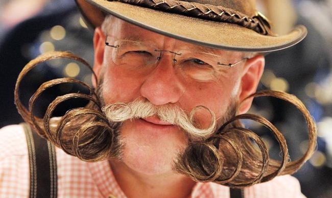 Wacky German Beard Championship