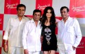 Ameesha Patel with Sultan, Abbas and Mustan