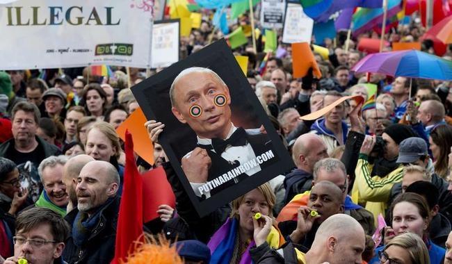 Protesting Against Putin