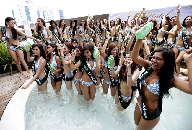 Sexy Miss Philippines Earth Contestants