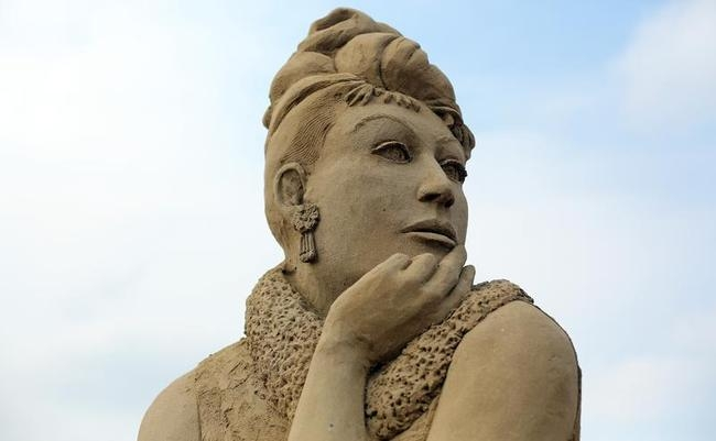 Hollywood Themed Sand Sculptures