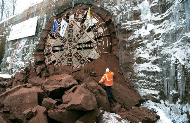 French Tunnel Boring Machine