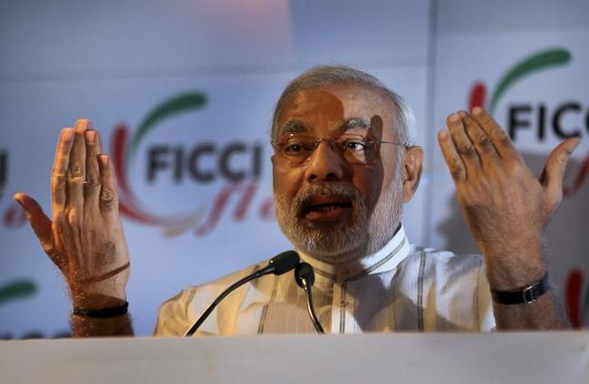 Narendra Modi at FICCI