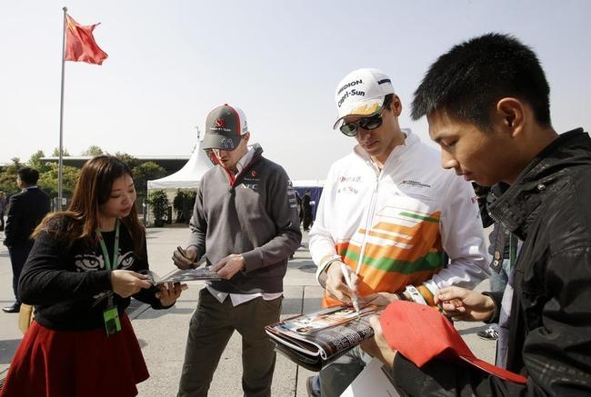 Formula One Focus Shifts to China