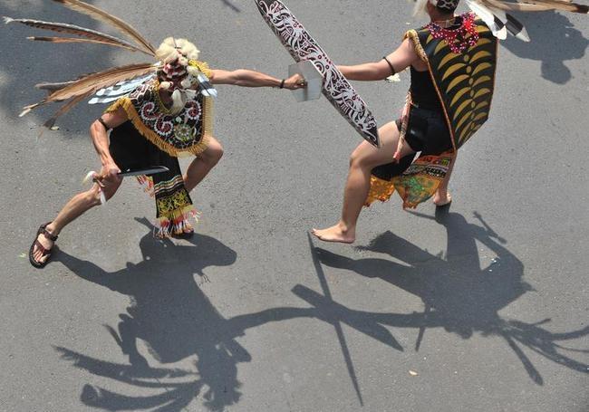Colourful Dayak Festival
