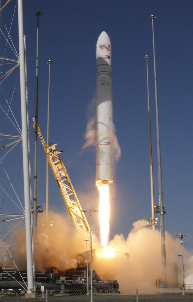 Antares Rocket Takes Off