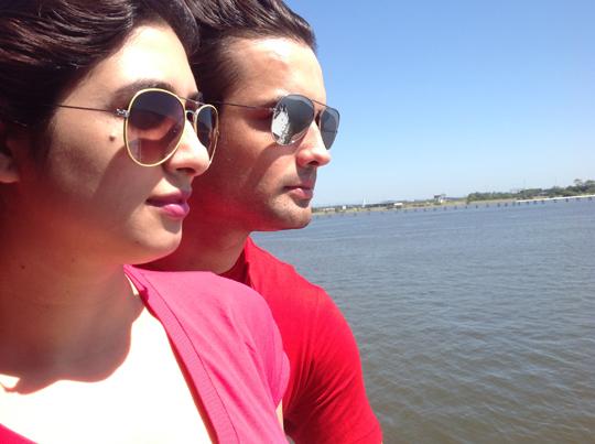 Vivian Dsena and Vahbbiz Dorabajee