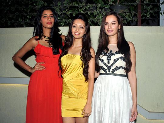 Gaelyn Mendonca, Pooja Salvi, Evelyn Sharma