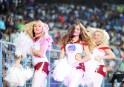 Cheerleaders in Kolkata