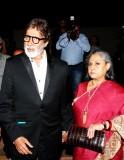 Amitabh Bachchan with wife Jaya