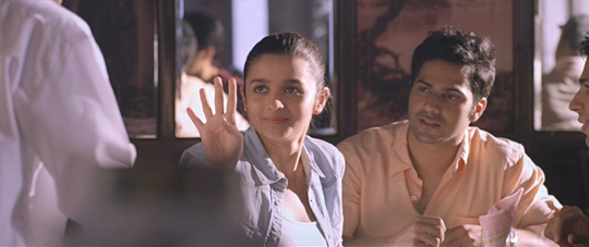 Alia Bhatt, Varun Dhawan and Sidharth Malhotra