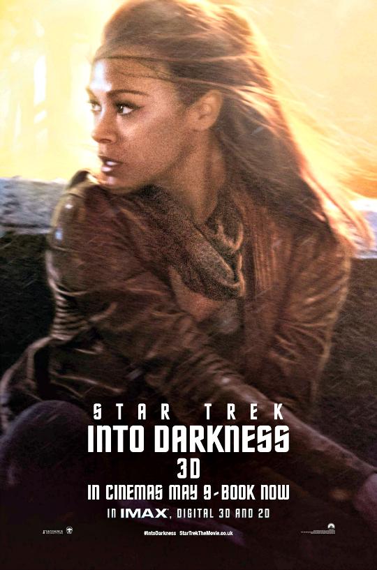 Zoe Saldana as Lieutenant Nyota Uhura
