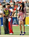 Virat Kohli and Ragini Dwivedi