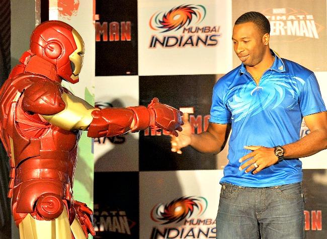 Pollard with Ironman