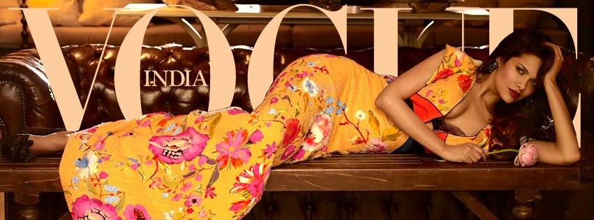 Esha Gupta, Vogue
