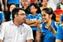 Gagan Narang and Saina Nehwal