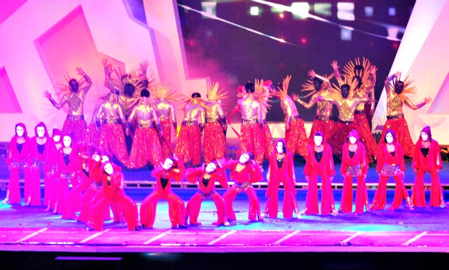 Rehearsal for IPL Opening