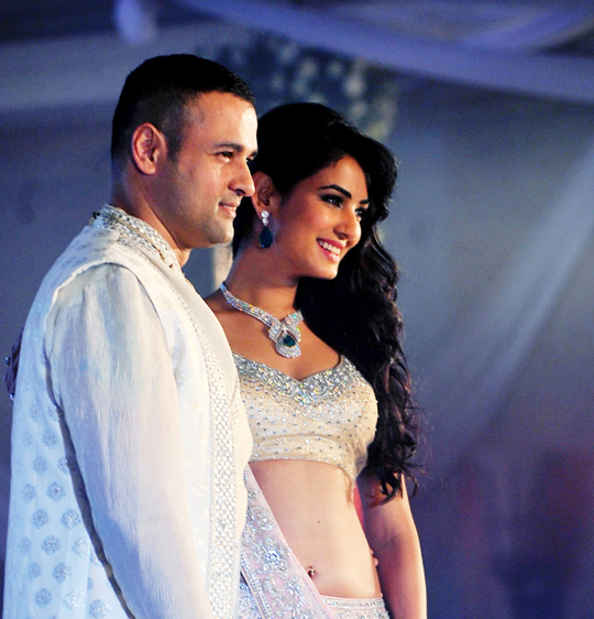 Rohit Roy and Sonal Chauhan