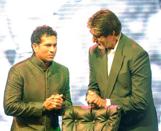 Sachin Tendulkar, Amitabh Bachchan
