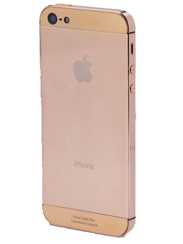 Gold-plated iPhone 5