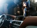 BMW 6 Series Coupe burlesque photo shoot