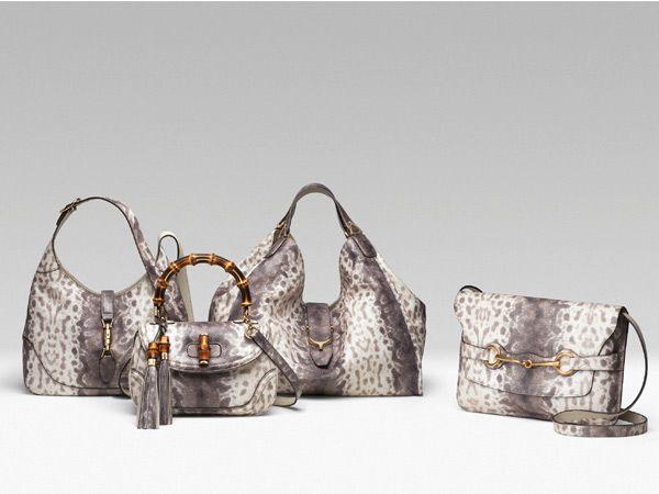 Gucci Karung Print handbags