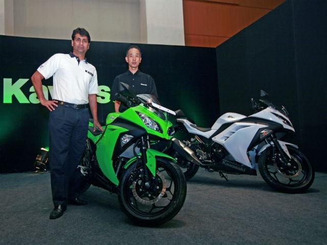 Kawasaki Ninja 300 Launch