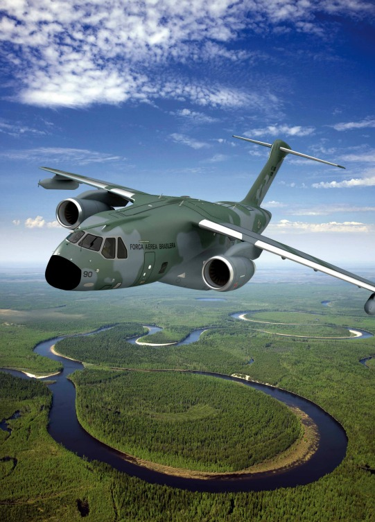 Brazilian Military Aircraft KC-390