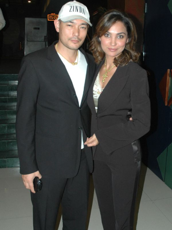 Lara Dutta & Kelly Dorjee