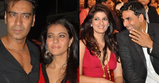 Ajay-Kajol, Akshay-Twinkle
