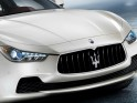 The design of the Ghibli is in keeping with the family look of Maserati but the nose and grille are more protruding compared to the Quattroporte