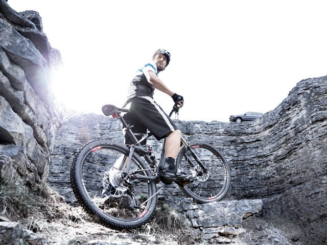 Mercedes-Benz Accessories Collection 2013 - Sport: Mercedes-Benz ALL MOUNTAIN mountain bike, men