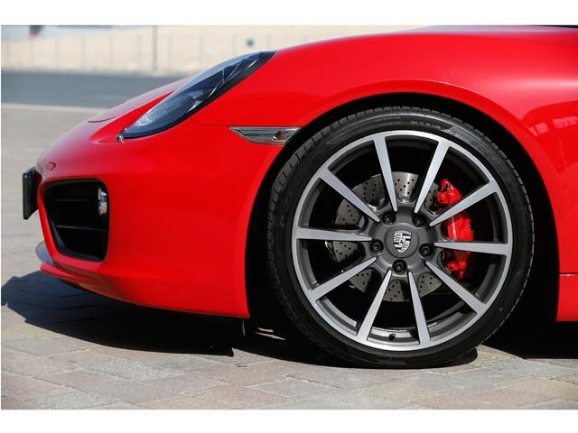 Porsche Cayman and Cayman S