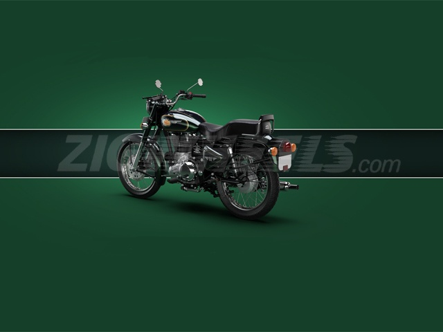 Royal Enfield 500 - New shade of Frost Green