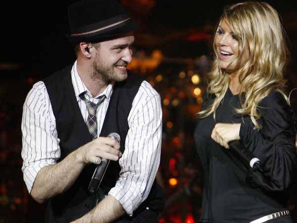 Justin Timberlake and Fergie