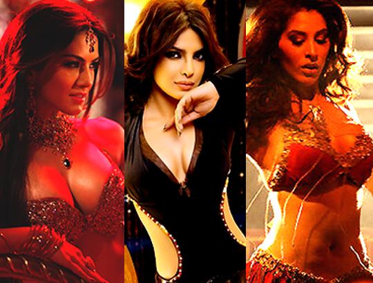 Sunny Leone, Priyanka Chopra, Sophie Chaudhary